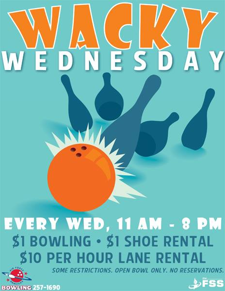 Wacky Wednesday Bowling @ Bowling Center