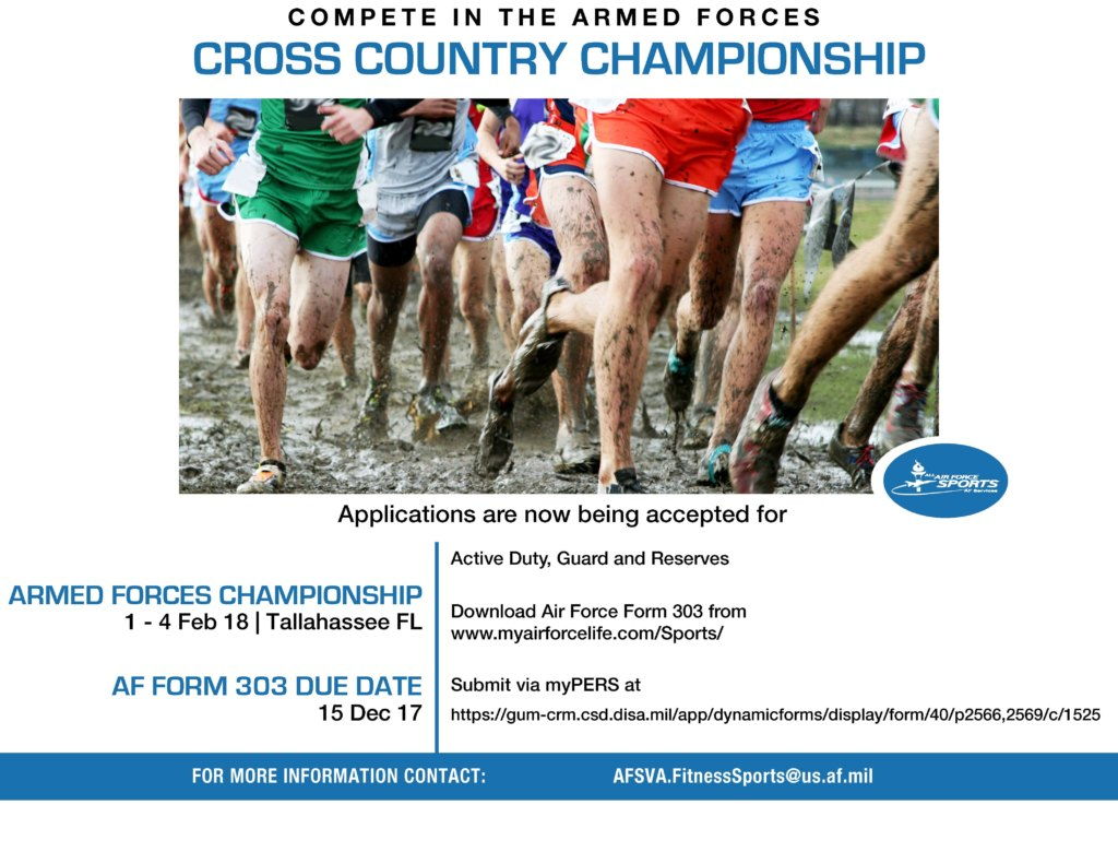 Cross Country Championship Flyer