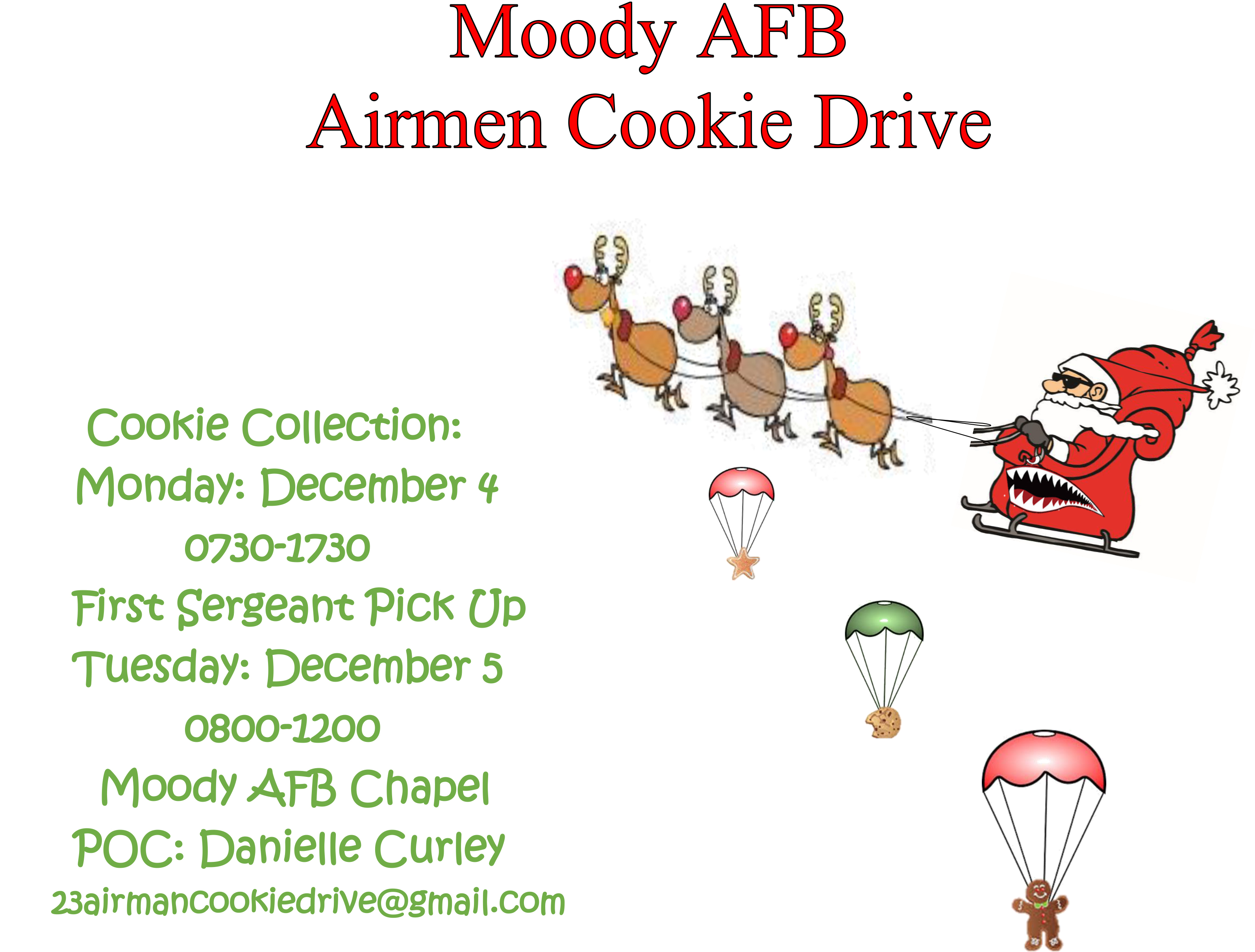 Cookie Drive Flyer