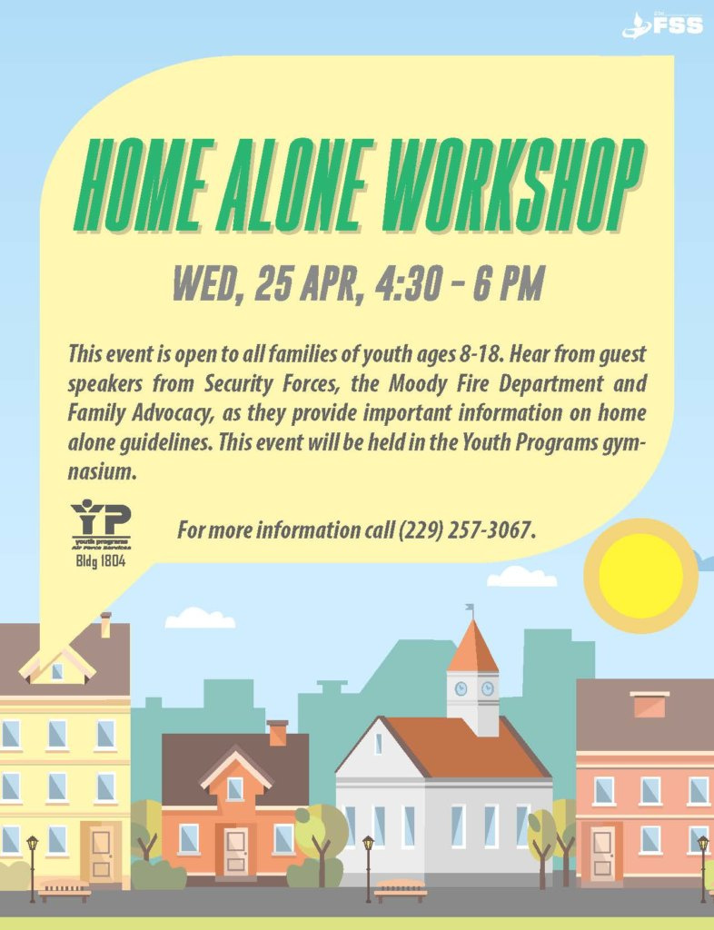 Home Alone Workshop @ Youth Center