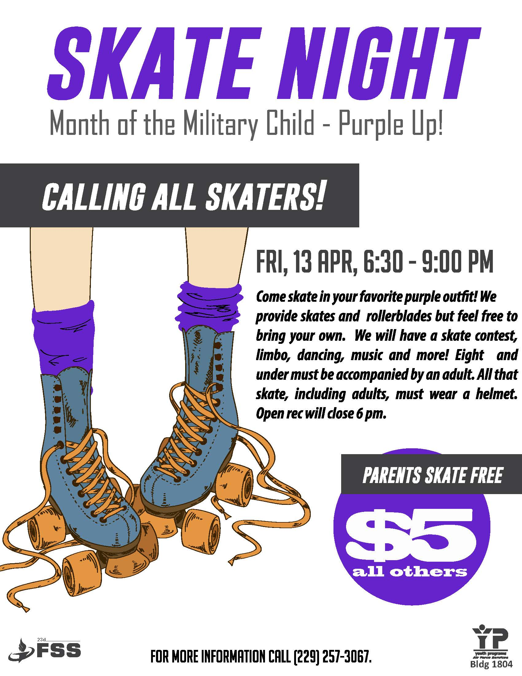 Skate Night @ Youth Center