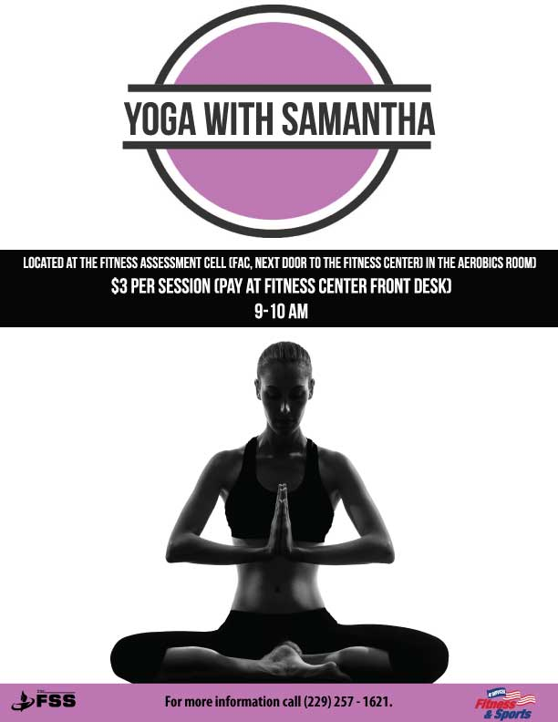 Yoga w/ Sam @ Fitness Center