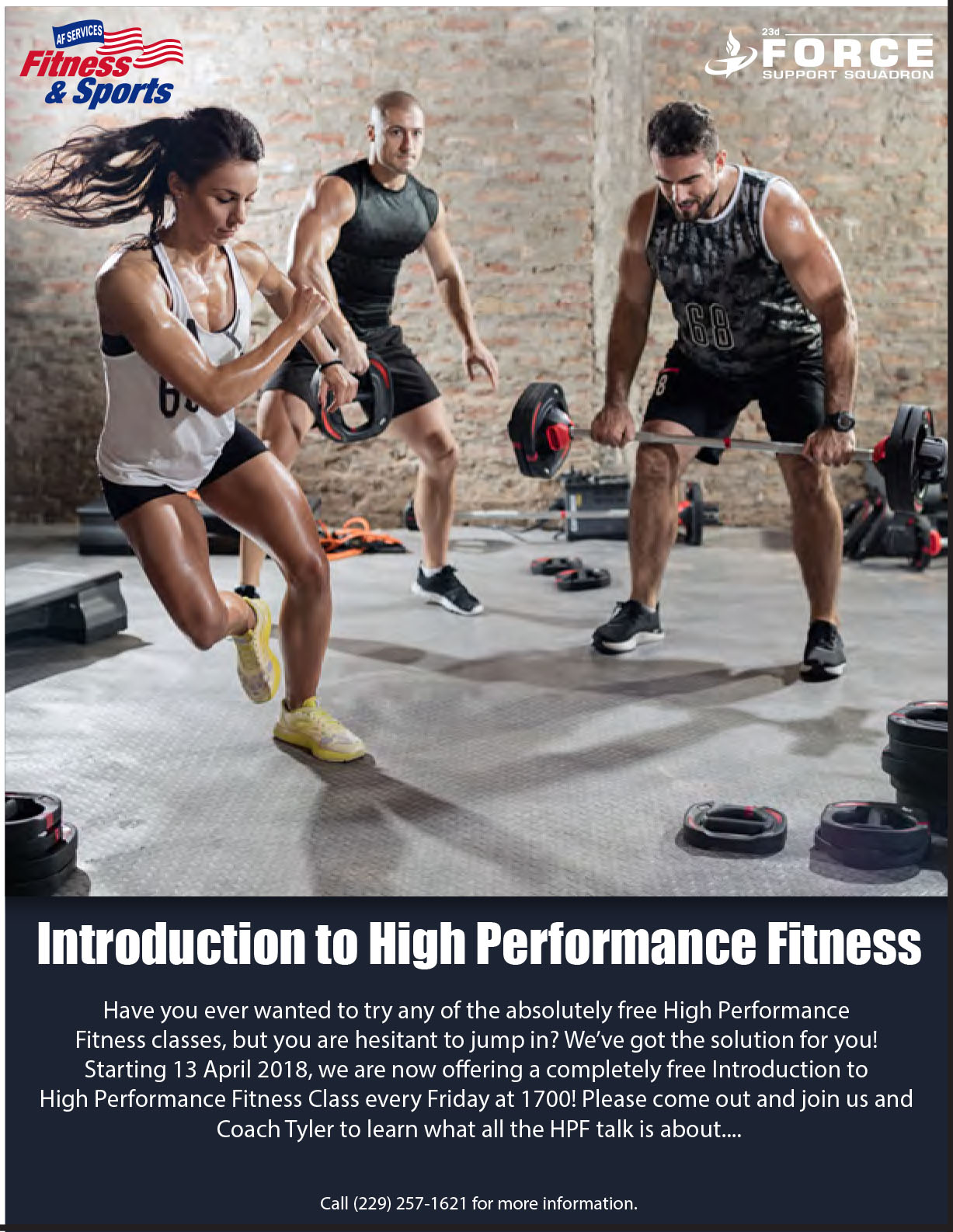 Intro to High Performance Fitness @ Fitness Center: The Box